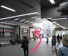 昭和通りへ向かいます。