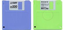 3.5インチ 2DD/2HDフロッピーディスク